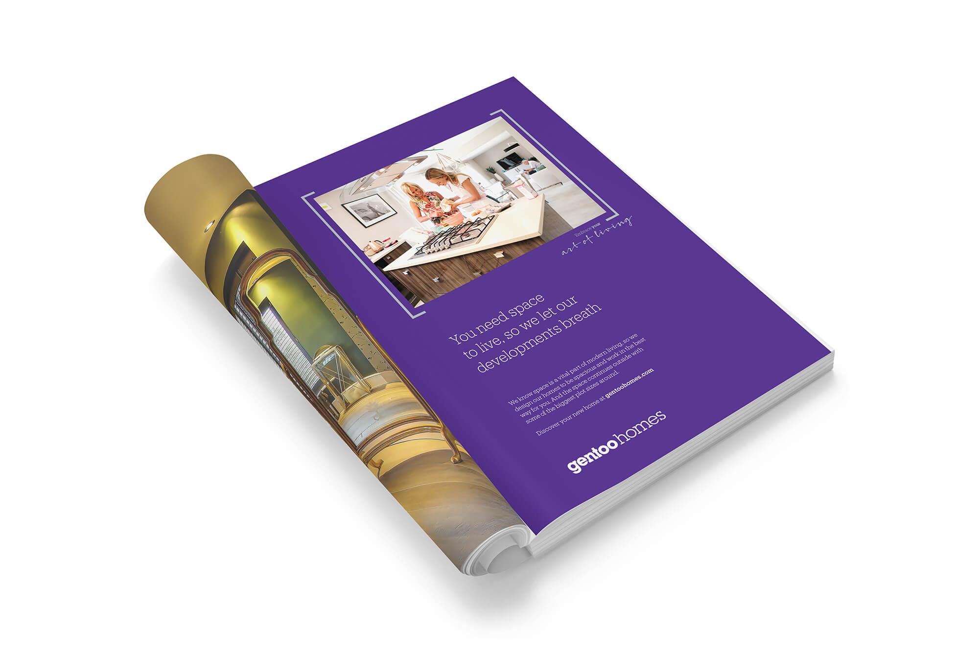 Gentoo Homes - The Works Creative, Design & Digital Agency Durham